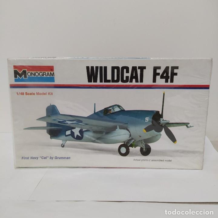 MONOGRAM WILDCAT F4F ESCALA 1/46. NUEVO (Juguetes - Modelismo y Radio Control - Maquetas - Aviones y Helicópteros)