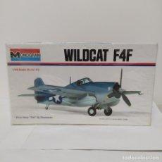 Maquetas: MONOGRAM WILDCAT F4F ESCALA 1/46. NUEVO. Lote 216441415