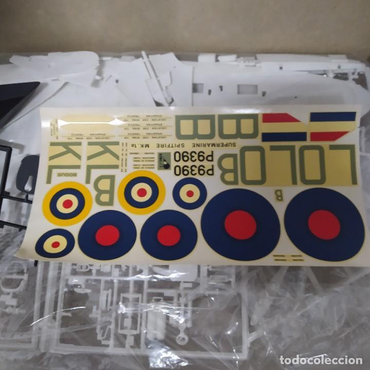 Maquetas: Avión Supermarine Spitfire Mk1a de Airfix.Escala 1/24 Nuevo - Foto 6 - 216487501