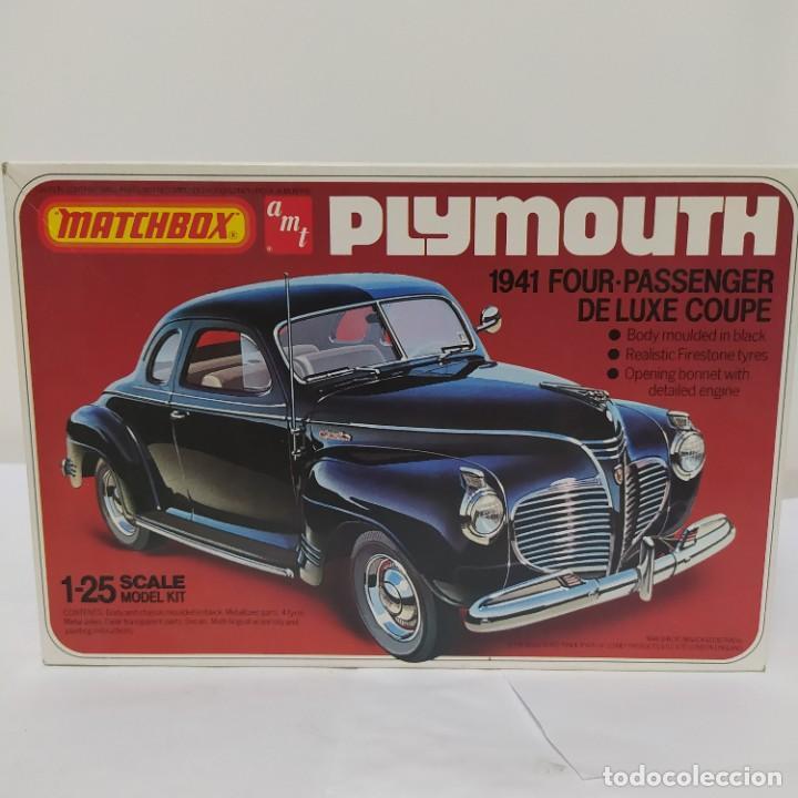 PLYMOUTH COUPE 1941 ESCALA 1/25 DE MATCHBOX/AMT. NUEVO (Juguetes - Modelismo y Radiocontrol - Maquetas - Coches y Motos)