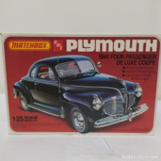 Maquetas: PLYMOUTH COUPE 1941 ESCALA 1/25 DE MATCHBOX/AMT. NUEVO. Lote 274686793
