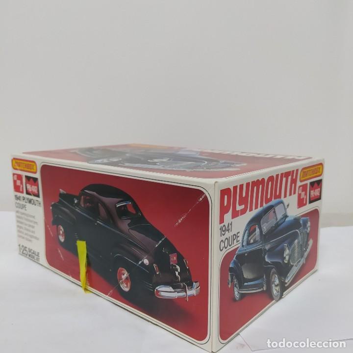 Maquetas: Plymouth coupe 1941 escala 1/25 de matchbox/amt. nuevo - Foto 2 - 274686793