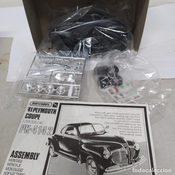 Maquetas: Plymouth coupe 1941 escala 1/25 de matchbox/amt. nuevo - Foto 3 - 274686793