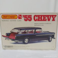 Maquetas: 55 CHEVY NOMAD ESTATE CAR ESCALA 1/25 DE MATCHBOX/AMT. NUEVO. Lote 216679770