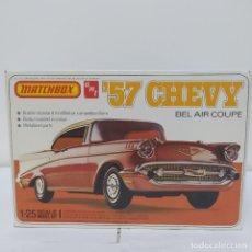 Maquetas: 57 CHEVY BEL AIR COUPE 1/25 MATCHBOX. . AÑO 1979. NUEVO, SIN ABRIR.. Lote 216762737
