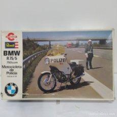 Maquetas: BMW R 75/5 750CC POLICÍA. AÑOS 70. REVELL CONGOST. 1/8. NUEVA, SIN ABRIR. Lote 216776697