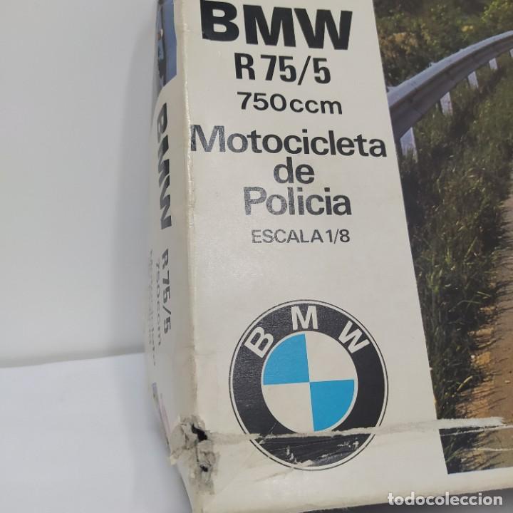 Maquetas: BMW R 75/5 750cc policía. Años 70. Revell Congost. 1/8. Nueva, sin abrir - Foto 2 - 216776697