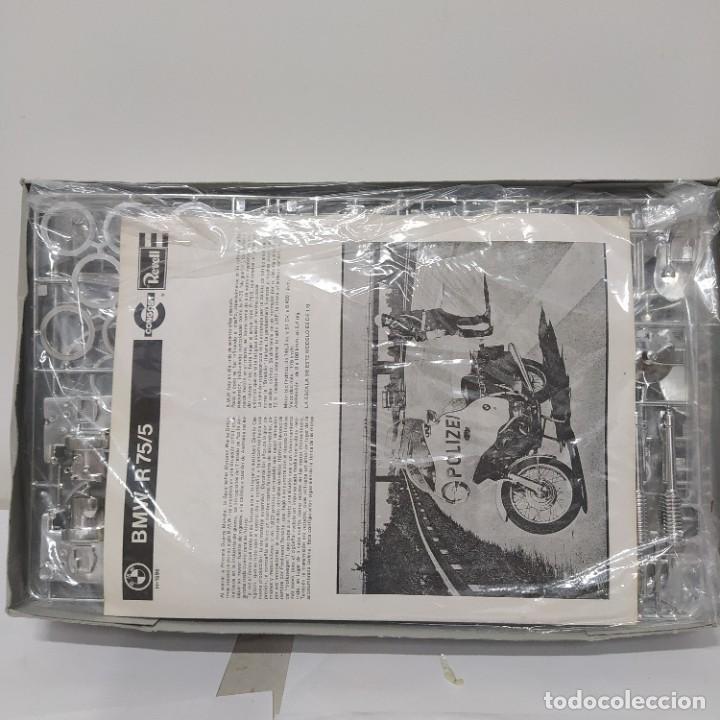 Maquetas: BMW R 75/5 750cc policía. Años 70. Revell Congost. 1/8. Nueva, sin abrir - Foto 5 - 216776697