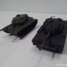 Maquetas: TANQUE M-60 Y M-47, ESCALA APROXIMADA 1/72 - SIN MARCA. Lote 216811255