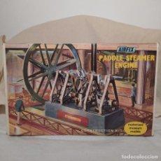 Maquetas: MAUDSLAY'S PADDLE ENGINE 1827 AIRFIX.1968. MOTOR ELÉCTRICO. NUEVO Y COMPLETO. Lote 217047502