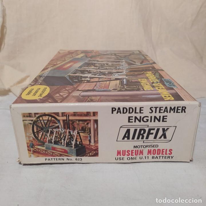 Maquetas: Maudslays Paddle engine 1827 Airfix.1968. Motor eléctrico. Nuevo y completo - Foto 2 - 217047502