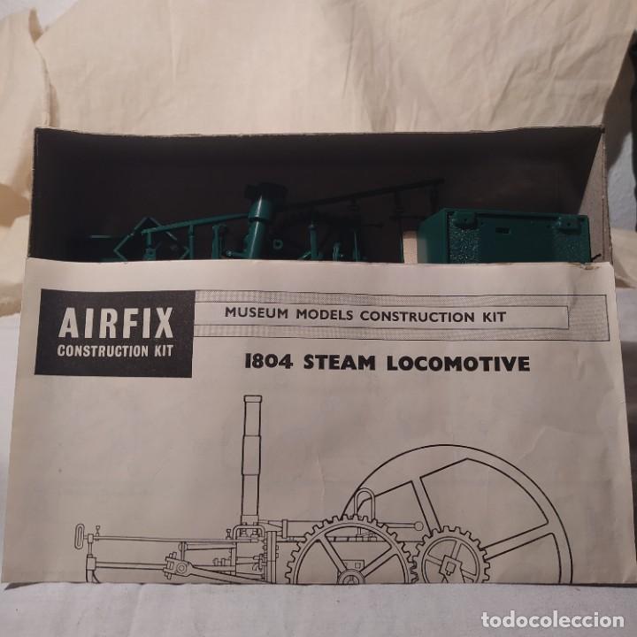 Maquetas: 1808 steam locomotive airfix.1968.motor eléctrico. Nuevo - Foto 2 - 217048038