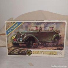 Maquetas: MONTY'S HUMBER 32 SCALE DE AIRFIX. MODELO DE 1973. NUEVO. Lote 217049430