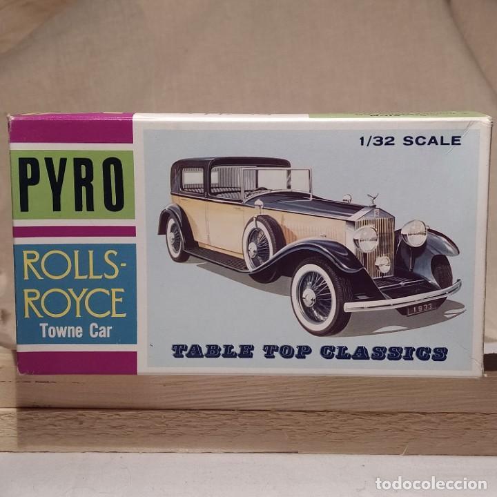 ROLLS-ROYCE TOWNE CAR 1/32 DE PYRO. AÑOS 60. NUEVO (Juguetes - Modelismo y Radiocontrol - Maquetas - Coches y Motos)