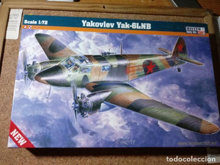 MAQUETA DE AVION YAKOVLEV YACK - 6LNB ESCALA 1/72 (Juguetes - Modelismo y Radio Control - Maquetas - Aviones y Helicópteros)