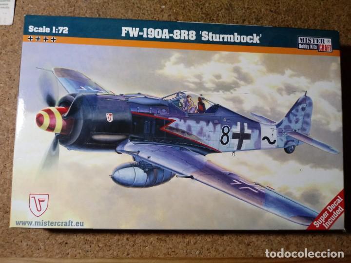 """MAQUETA DE AVION FW - 190A - 8R8 """" STURMBOCK """" ESCALA 1/72 (Juguetes - Modelismo y Radio Control - Maquetas - Aviones y Helicópteros)"""