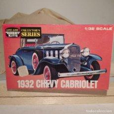Maquetas: 1932 CHEVY CABRIOLET HOBBY KITS 1/32. AÑO 1975. NUEVO SIN ABRIR. Lote 217282122