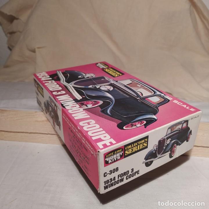 Maquetas: 1934 Ford 3 window Coupe Hobby kits 1/32. Año 1975. Nuevo sin abrir - Foto 2 - 217282210
