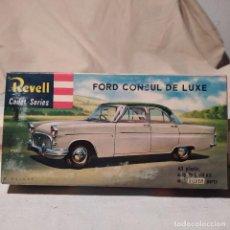 Maquetas: FORD CONSUL DE LUXE REVELL CADET SERIES 1/45. AÑO 1959. NUEVO. Lote 217283072