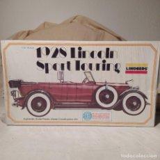 Maquetas: 1928 LINCOLN SPORT TOURING 1/32 LINDBERG. AÑO 1975. NUEVO. Lote 217284225