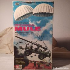 Maquetas: U.S. AIR DROP MECHANICAL MULE WITH PARACHUTES. AÑO 1960. COMPLETO PERO SIN CALCAS.. Lote 217290180