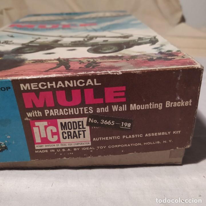 Maquetas: U.S. Air Drop Mechanical Mule with Parachutes. Año 1960. Completo pero sin calcas. - Foto 3 - 217290180