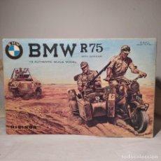 Maquetas: BMW R75 WITH SIDECAR 1/9 ESCI/HISINSA. AÑO 1973 . 1° MODELO. NUEVO Y COMPLETO. Lote 217392396