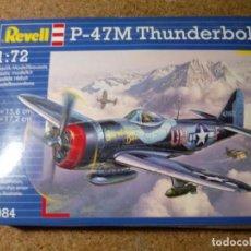 Maquetas: MAQUETA DE AVION P - 47 M THUNDERBOLT ESCALA 1/72. Lote 217503957