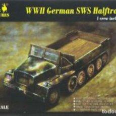 Maquetas: 7210 CAESAR 1/72 WW II GERMAN SWS SEMIORUGA DE CARGA.. Lote 217554283