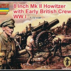 Maquetas: A003 STRELETS 1/72 BRITISH 8 INCH HOWITZER & EARLY WAR I. Lote 217558012