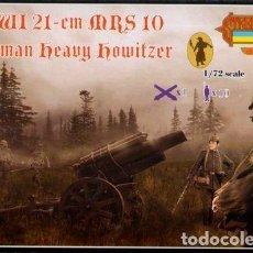 Maquetas: A013 STRELETS 1/72 WW I, 21CM MRS 10 GERMAN HEAVY HOWITZER. Lote 217558493
