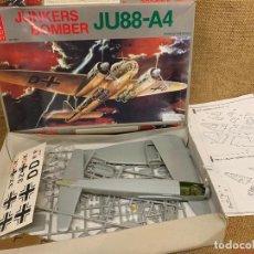Maquetas: IMPRESIONANTE ANTIGUA MAQUETA DEL AVION BOMBARDERO JUNKERS BOMBER, JU88-A4 DE HOBBY CRAFT. Lote 217562283