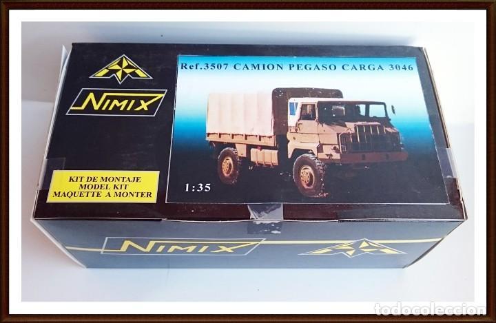 NIMIX REF 3507 KIT RESINA PEGASO 3046 4X4 (Juguetes - Modelismo y Radiocontrol - Maquetas - Coches y Motos)