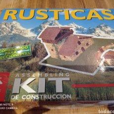 Maquetas: ASSEMBLING KIT DE CONSTRUCCIÓN RÚSTICAS. Lote 217601528