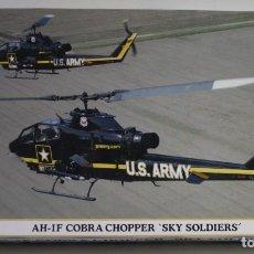 Maquettes: MAQUETA HASEGAWA HA-1F COBRA CHOPPER SKY SOLDIERS ESCALA 1/72. Lote 217623273
