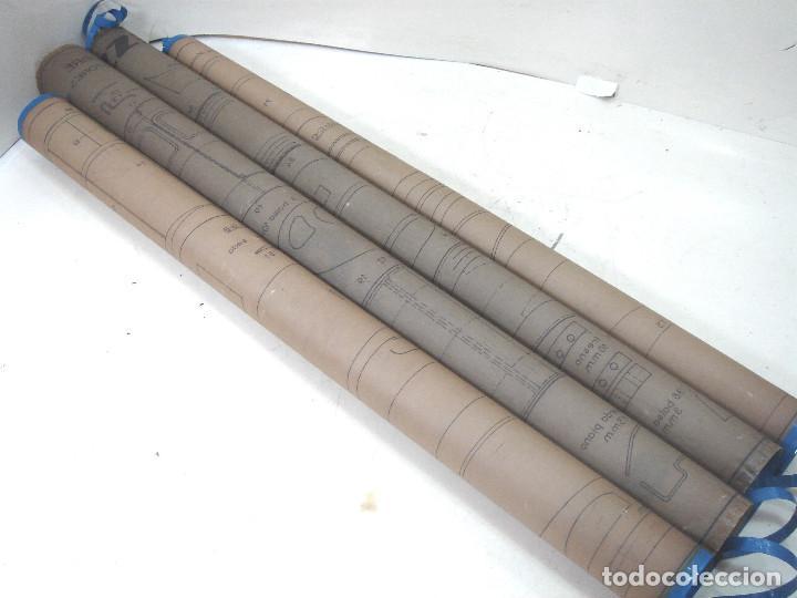 Maquetas: PLANOS MAQUETA - AVIONETA CESSNA 180 ESC:1:1 MOTORES 1CC-VUELO LIBRE AÑOS 50/60-AVION CONSTRUCCION - Foto 15 - 217804881