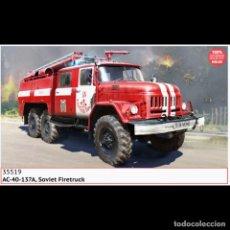 Maquetas: ICM 35519 # 1:35 AC-40-137A SOVIET FIRETRUCK. Lote 237581770