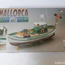 Maquetas: BARCO DE PESCA FISHING BOAT MALLORCA KIT DE MADERA WODEN KIT. CONSTRUCTO MODELISMO NAVAL. Lote 217944371