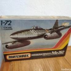 Maquetas: MAQUETA MATCHBOX ESCALA 1:72 AVION MESSERSCHMITT ME 262. Lote 218141177