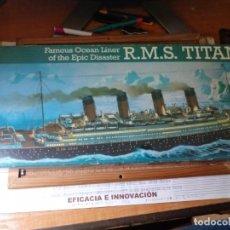 Maquetas: MAQUETA DEL R. M. S. TITANIC ESCALA 1/572 DE LA MARCA REVELL. Lote 218209723