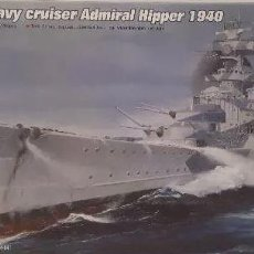 Maquetas: CRUCERO PES ALEMAN ADM.HIPPER 1940 II GUERRA MUNDIAL TRUMPETER 1/700. A ESTRENAR COMPLETO-PRECINTADO. Lote 218238711