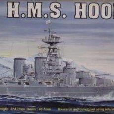 Maquetas: ACORAZADO INGLES HMS HOOD 1931 II GUERRA MUNDIAL TRUMPETER 1/700. A ESTRENAR COMPLETO-PRECINTADO. Lote 218240445