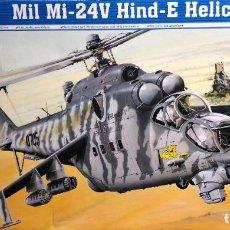 Maquetas: 1/35 TRUMPETER HELICOPTERO MIL MI 24V HIND-E. NUEVO. Lote 218297762