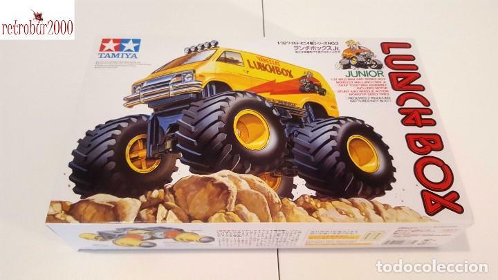 TAMIYA MINI 4WD LUNCH BOX 17003. ESCALA 1/32 (Juguetes - Modelismo y Radiocontrol - Maquetas - Coches y Motos)