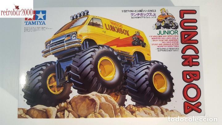 Maquetas: Tamiya Mini 4WD Lunch Box 17003. Escala 1/32 - Foto 2 - 267069674