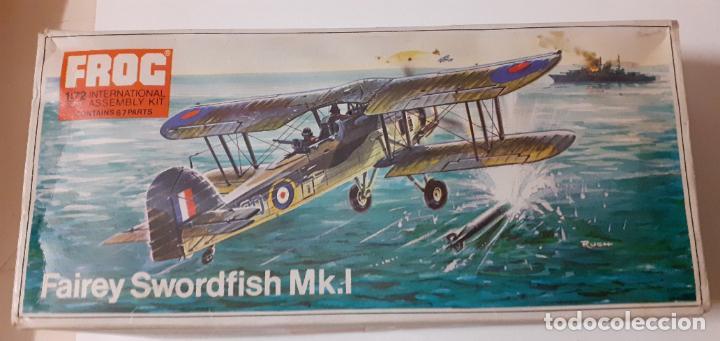 FAIREY SWORDFISH MK I. FROG 1/72 (Juguetes - Modelismo y Radio Control - Maquetas - Aviones y Helicópteros)