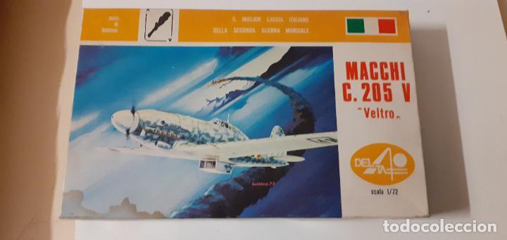 MACCHI C 205 VELTRO. DELTA 1/72 (Juguetes - Modelismo y Radio Control - Maquetas - Aviones y Helicópteros)