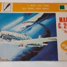 Maquetas: MACCHI C 205 VELTRO. DELTA 1/72. Lote 218399671