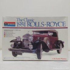 Maquetas: THE CLASSIC 1931 ROLLS ROYCE1/24 MONOGRAM. SIN ABRIR. Lote 218521433