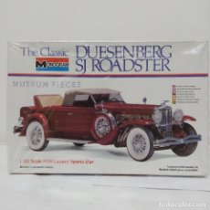 Maquetas: THE CLASSIC DUESENBERG SJ ROADSTER 1/24 MONOGRAM. NUEVO. Lote 218522133